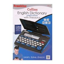 New Franklin Collins English Dictionary with Thesaurus DMQ221