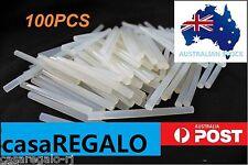 100pc Hot Clear Melt Glue Adhesive Sticks For Glue Gun 7mm x 100mm