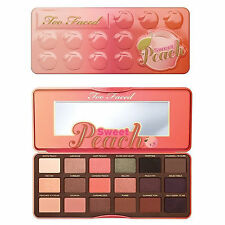 UP Too Faced Sweet Peach Eye Shadow Collection Palette 18 Colors Eyeshadow Make