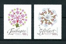 Iceland 2016 MNH Wild Icelandic Vegetation 2v S/A Set Campion Flowers Stamps