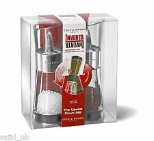 Cole & Mason 15.4cm Inverta Flip Acrylic and Chrome Salt & Pepper Mill Gift Set