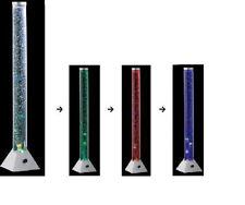 Wassersäule Sprudelsäule LED Farbwechsler inkl Fische Höhe 1,30m .#3253