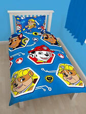 Paw Patrol Rescue Single Duvet Cover Quilt Cover Bedding Set With Pillowcase