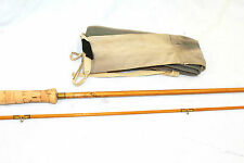 """9'-6"""" Hardy the """"Halford Knockabout"""" Palakona fly fishing rod post numbered V/F"""
