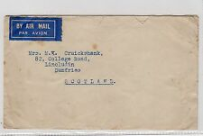 MALAYA: 1949 AIR MAIL COVER TO SCOTLAND (C20216)