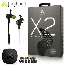 NEW JayBird X2 Sport Bluetooth wireless Headphones MIDNIGHT BLACK