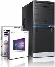 PC Quad Core Computer GAMER A8 6500 16GB 2TB Rechner Komplett Windows 10
