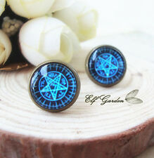 Black Butler Cute Anime Cosplay Kuroshitsuji Anime Retro Stud Earrings Ear Hot