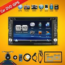 2 Din Universal Car Radio Double Car DVD Player GPS Navigation In Dash PC Stereo