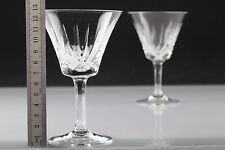 2 schöne Vintage Weingläser Weißweingläser Kristall Gläser ~ 60er W5C
