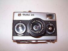 Sammlerauflösung- Rollei 35 Carl Zeiss Tessar 1:3,5 = 40mm