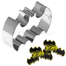 Stainless Steel Batman Biscuit Cookie Fondant Pastry Mold Cake Cutter Decorating