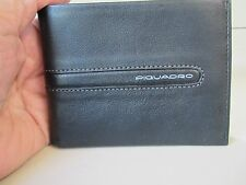 Piquadro Freeway black leather wallet PU1133FW/NG