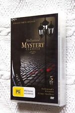 HOLLYWOOD MYSTERY CLASSICS (DVD, 5-DISC SET), R-ALL, BRAND NEW, FREE SHIPPING