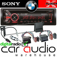 BMW E46 3 Series Sony DAB Bluetooth CD MP3 USB Car Stereo & Complete Fitting Kit