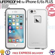 """GENUINE LifeProof Fre Case WaterProof Cover for iPhone 6 Plus 6s Plus 5.5"""" White"""