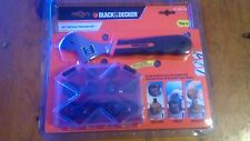 Black & Decker Nut & Bolt Remover Set A71606-XE 10 sizes Removers + Wrench