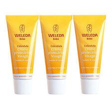 3PCS Weleda Baby Calendula Face Cream 50ml x3= 150ml Moisturizers NEW #4015_3