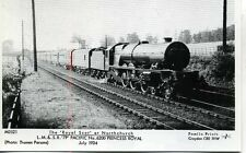 Pamlin M3521 repro photo postcard LMS No. 6200 PRINCESS ROYAL Northchurch 1934