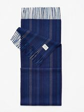 Joules Tytherton French Navy Stripe - beautifully soft mens winter scarf
