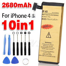 For Apple iPhone 4S Battery Replacement High Quality Repair Tools Gold 2680 mAh