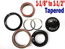 """Neco Headset 1-1/8"""" 1-1/2"""" Tapered Integrated MTB frame Road Bike Steerer Tube"""