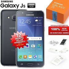 New Sealed Unlocked SAMSUNG Galaxy J5 J500F Black 4G LTE Android Mobile Phone
