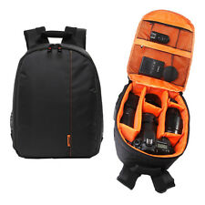 Waterproof Camera Backpack Bag Lens Case Rucksack For DSLR SLR Canon EOS Nikon