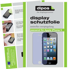 5x Apple IPhone 5 / 5S screen protector protection guard anti glare