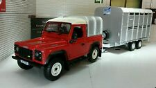 Land Rover Defender SWB TDi 90 Ifor Williams And Trailer 1:32 Britains Model