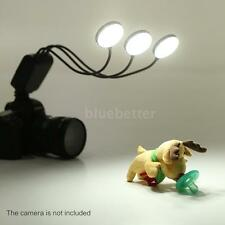 360° Flexible Macro Flash Light Speedlite for Canon Nikon Sony DSLR Camera M2T7
