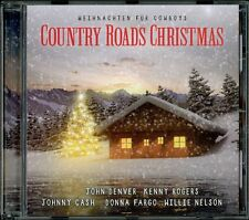CD Country Roads Christmas: Weihnachten für Cowboys (John Denver,Johnny Cash...)