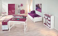 Kleiderschrank Kinderzimmer Kinderschrank Schrank Kinder 2-türig Schublade lila
