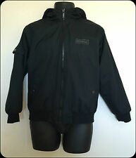 Child's/Kids Airwalk Hooded Jacket/Coat in Black size 13 with Hood