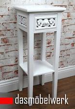 Telefontisch Rosali Beistelltisch Konsole Nachttisch antik weiß shabby Landhaus