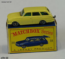 Matchbox Lesney 1963 - # RW 38b - Vauxhall Victor Estate Car in OVP 1AAA Zustand