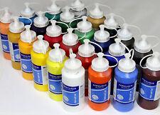 Lot de 24 Tubes Peinture acrylique 500 ml 12 litre, NEUF