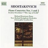 SHOSTAKOVICH - PIANO CONCERTOS NO'S 1 AND 2 - THE AGE OF GOLD - CD
