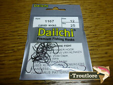 25 x DAIICHI 1167 #12 KLINKHAMER HOOKS for EMERGERS & DRY FLIES NEW FLY TYING