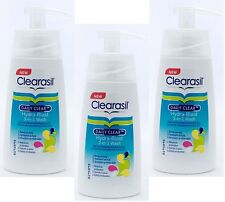 3 x Clearasil Daily Clear Hydra Blast Skin Perfecting Wash for Face 150ml