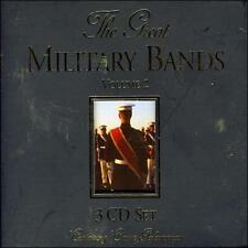 The Great Military Bands - Volume 2   *** BRAND NEW 3CD BOXSET ***