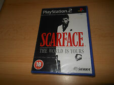 BRAND NEW!!! • SCARFACE - THE WORLD IS YOURS • PS2 • SEALED