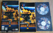 SUPREME WARRIOR LONG BOX VERSION for PANASONIC 3D0 3DO RARE & COMPLETE