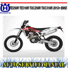 HUSQVARNA TE250R TE310R TXC250R TXC310R 2012+ BIKE SERVICE REPAIR MANUAL ~ DVD