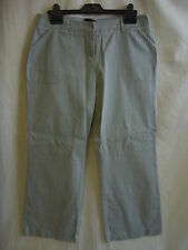 Ladies Trousers - Principles PETITE size 14/EU 42, pincord, light green - 0500