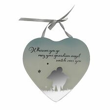 Guardian Angel -  Reflections from the Heart Mirrored Hanging Plaque