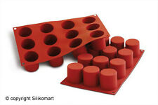 Cylinder SF098 Baking and Dessert Silicone Mould by Silikomart