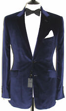 BNWT MENS DUCHAMP LONDON NAVY VELVET JACKET/BLAZER 40R