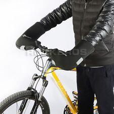Mountain Bike Winter Radfahren Fahrrad Lenker Hand Warm Cover Handschuhe Wind