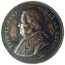 MEDAL - Pius IX  Jahr XXVIII Pontifikates 1873 - Zustand der Kirche - Jahres päp